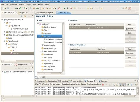 web xml eclipse plug in to edit web xml in java ee stack overflow
