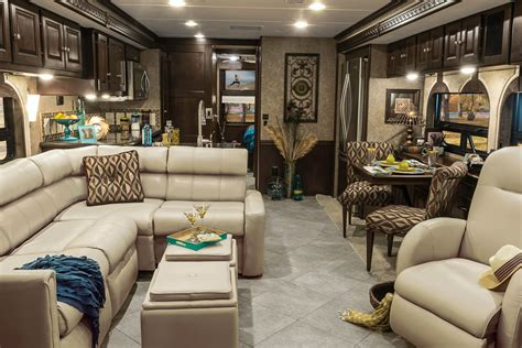 adventurer interior lounge winnebago rvs