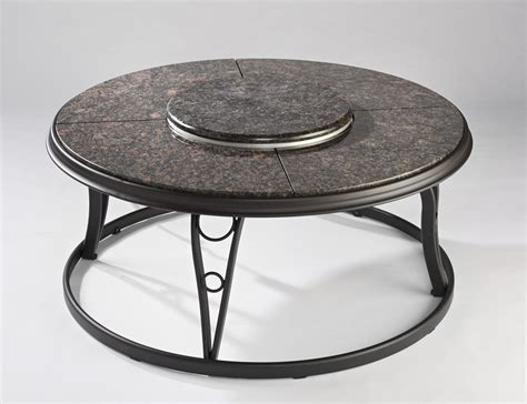 Granite Pit Table granite pit chat 48 inch table