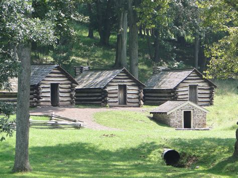 Valley Of Cabins by File Valley Forge National Historical Park Log Cabins Jpg Wikimedia Commons