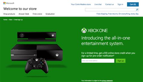 email xbox microsoft accepting sign ups for pre order notifications