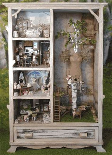 little girls doll houses armoire as doll house coolest idea ever for little girls room