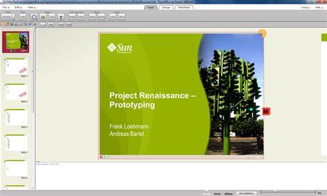Openoffice Impress Open Office Templates Presentation