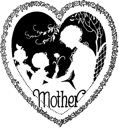 mothers day clipart beautiful vintage s day image the graphics