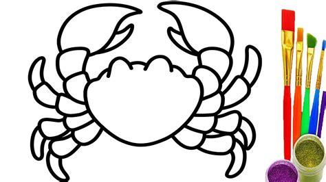 crab colors crab coloring pages coloring pages