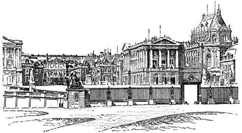 Modern Buildings view of versailles clipart etc