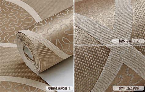 luxury flocking textured wallpaper modern wall paper roll luxury modern style 3d flocked textured waves striped