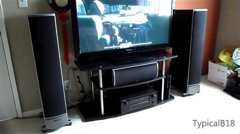 polk audio rti 5 1 home theater setup demo