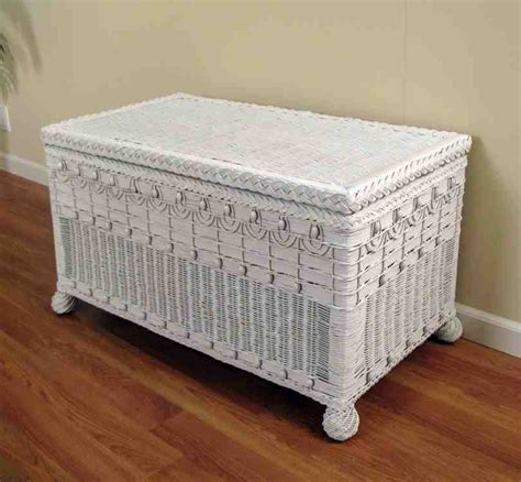 white wicker storage bench white wicker storage bench home furniture design