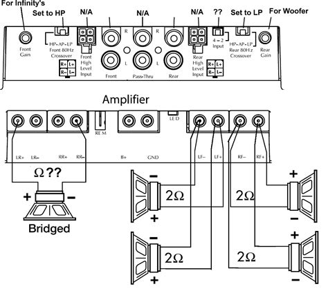 4 channel wiring diagram within 5 and wiring diagram