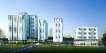 Detailed high rise building complex 3d model 3d model