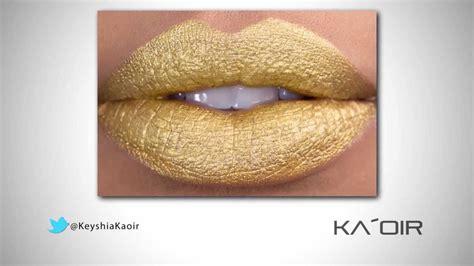 Lipstik Golden golden goddess ka oir gold lipstick review feat