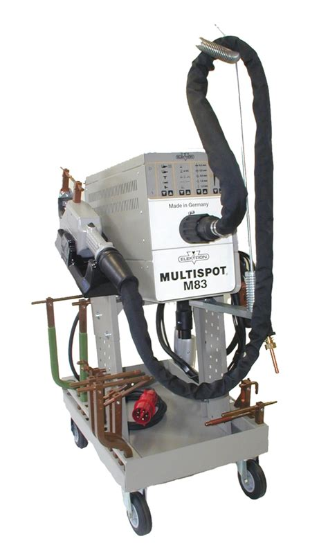 Multi Spot Elektron Inc Optional Water Cooled Arms On Multispot M83 In Welding Equipment