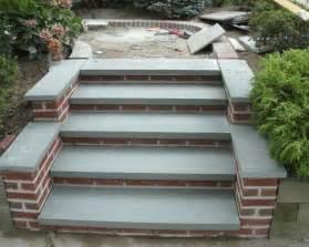 Online Landscape Design Service flagstone patio amp brick steps wall