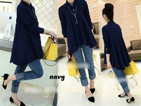 Blouse Jepang baju blouse atasan wanita modis model terbaru murah