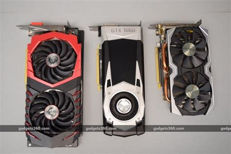 Zotac Vga Gtx 1060 6gb Ddr 5 Geforce Pcie msi geforce gtx 1060 gaming x and zotac geforce gtx 1060 edition review ndtv gadgets360