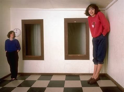 ames room illusion perceptionsense the ames room