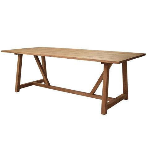 Teak Kitchen Table Built With Hardy Reclaimed Teak Our Table Looks Like It S Hosted Gatherings For Years Via