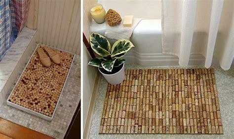 tappeto con tappi di sughero 25 idee per riciclare tappi di sughero ispirando