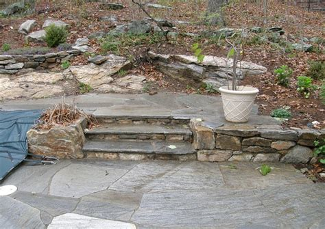 flagstone steps flagstone patio and steps stonework