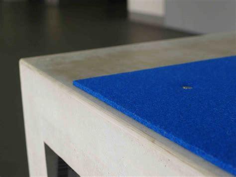 filzauflage bank beton bank hocker concrebench kaufen