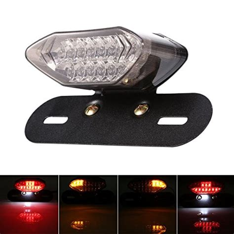 Custom Led Plate Taillight Turn Signals For Suzuki Gsxr 600 750 1000 1 44 best and coolest led brake lights