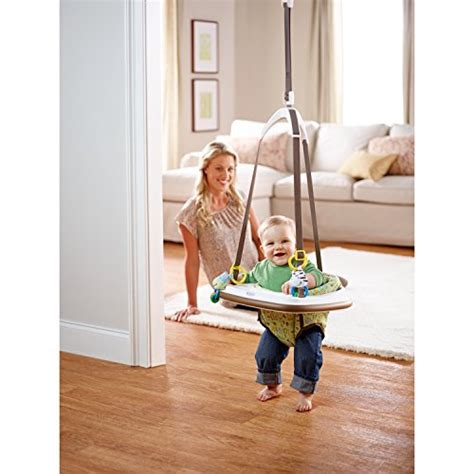 bouncy swing door frame graco bumper jumper little jungle every thing baby