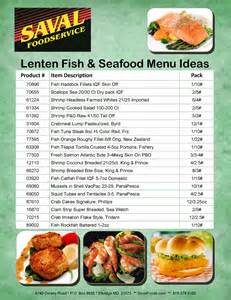 Menu Ideas For - lenten season seafood fish menu ideas saval foodservice