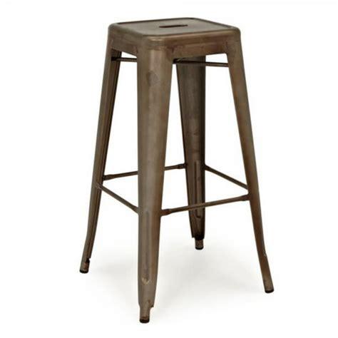 rusted finish bar stool tablebasedepot