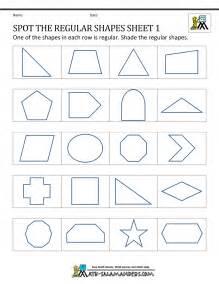 regular shapes