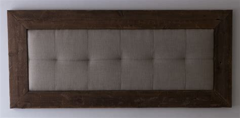 narrow headboard minimalist long narrow tufted padded wall mount headboard