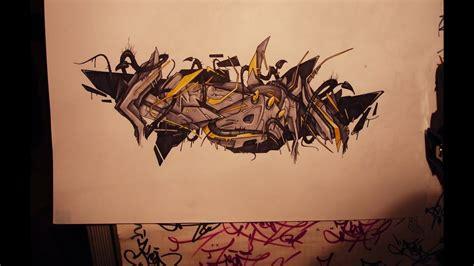 graffiti sketch  wildstyle keon rca  hd youtube