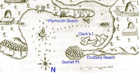 where is the plymouth colony original site of the plymouth colony identified