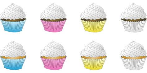 cupcake cupcakes desserts  vector graphic  pixabay
