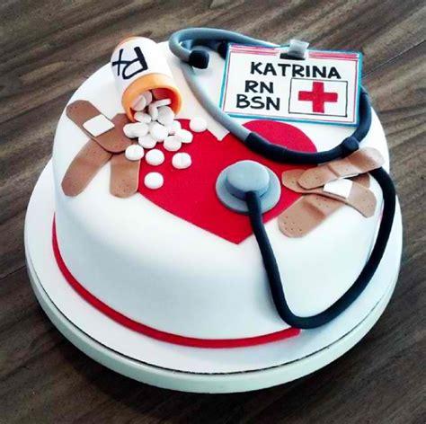 Nurse Themed Cake Decorations Nursing Graduation Cake Chu On Cakes