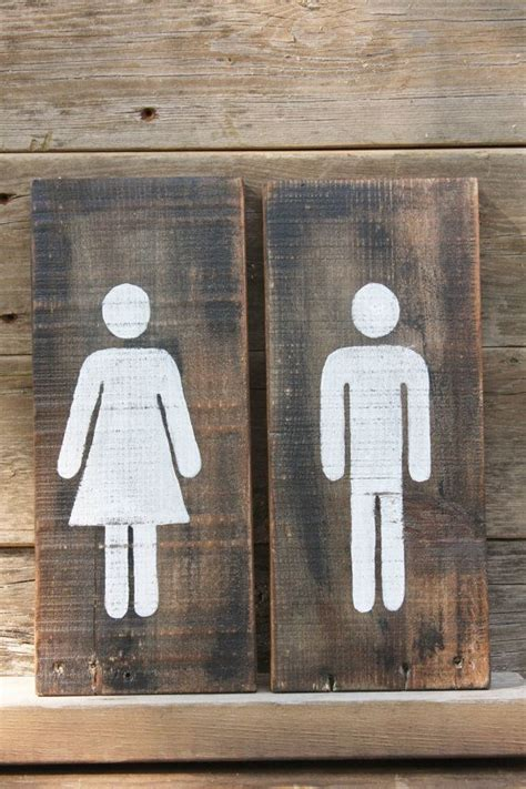 bathroom signages best 25 restroom signs ideas on pinterest man wc