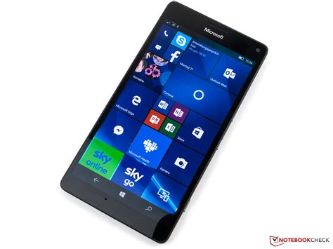 Microsoft 950 Xl microsoft lumia 950 xl smartphone review notebookcheck net reviews