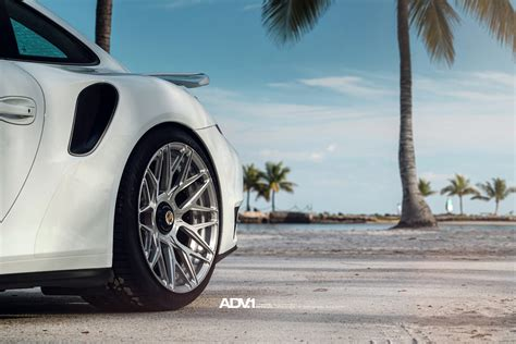 porsche turbo wheels white porsche 991 turbo s adv10 0 m v2 cs forged concave