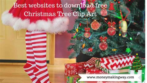 6 best websites to download free christmas tree clip art
