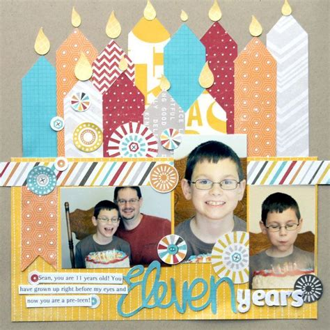 scrapbook layout ideas for birthday 263 best scrapbook birthday layouts images on pinterest