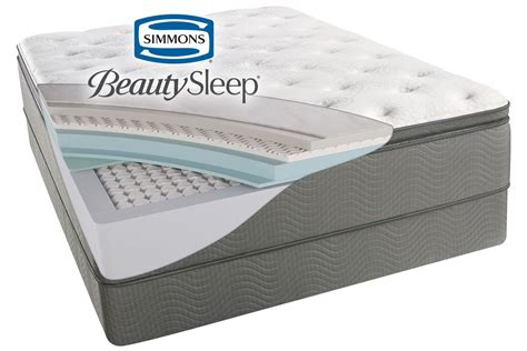 simmons 174 beautysleep 174 sun valley plush pillow top king