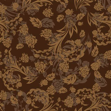 brown flower pattern vector floral pattern free vector download 23 022 free
