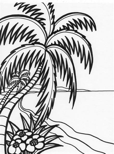 Free Printable Beach Coloring Pages For Kids Free Drawing Pictures