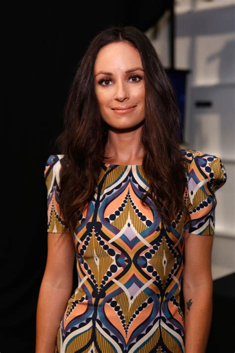 catt sadler tattoo catt sadler photos photos lhuillier backstage