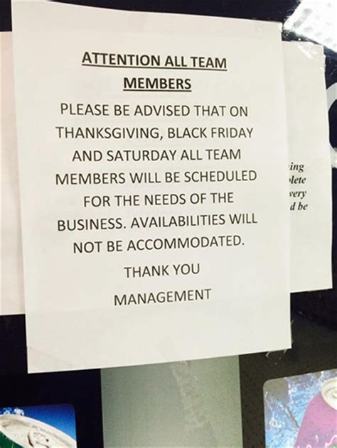 Apology Letter To Kmart Kmart To Employee Work On Thanksgiving Day Or Get Fired Billmoyers