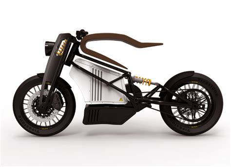 Motor Aki Ride On Motorcycle Electric Fz Sport L e electric bike features elastic wooden seat with