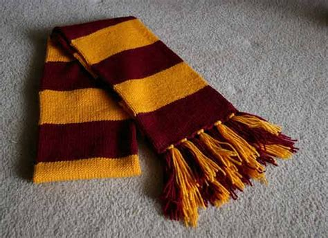 gryffindor scarf knitting pattern harry potter knitting patterns in the loop knitting