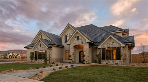 custom home anderson custom homes inc st george utah builder