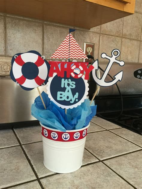 nautical themed baby shower centerpieces 25 best nautical baby showers ideas on