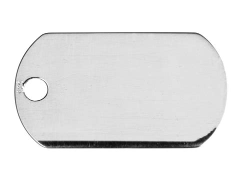 silver tags sterling silver tag sting blank 22 x 13 x 0 5mm cooksongold